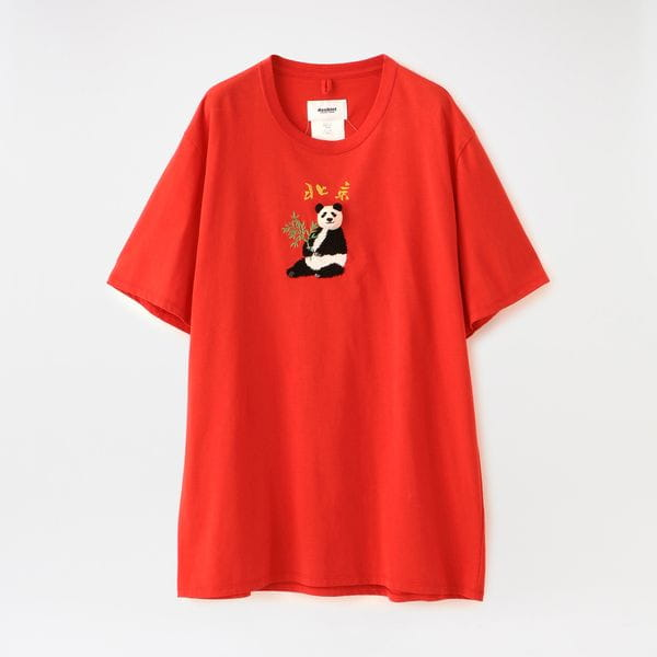 【doublet】MEN Tシャツ PUPPET ANIMAL EMBROIDERY T-SHIRT 20AW31CS161