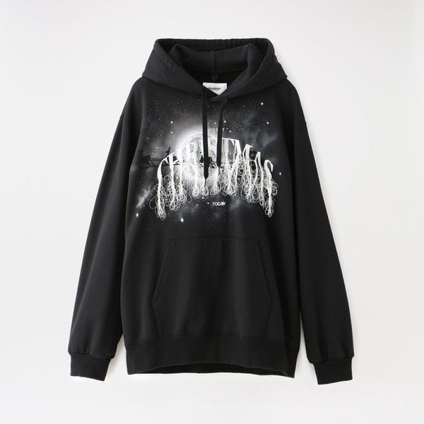 【doublet】MEN NOT ANNIVERSARY EMBROIDERY HOODIE 21SS31CS176