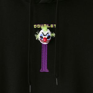 【doublet】MEN パーカー PUPPET EMBROIDERY HOODIE 21AW26CS192