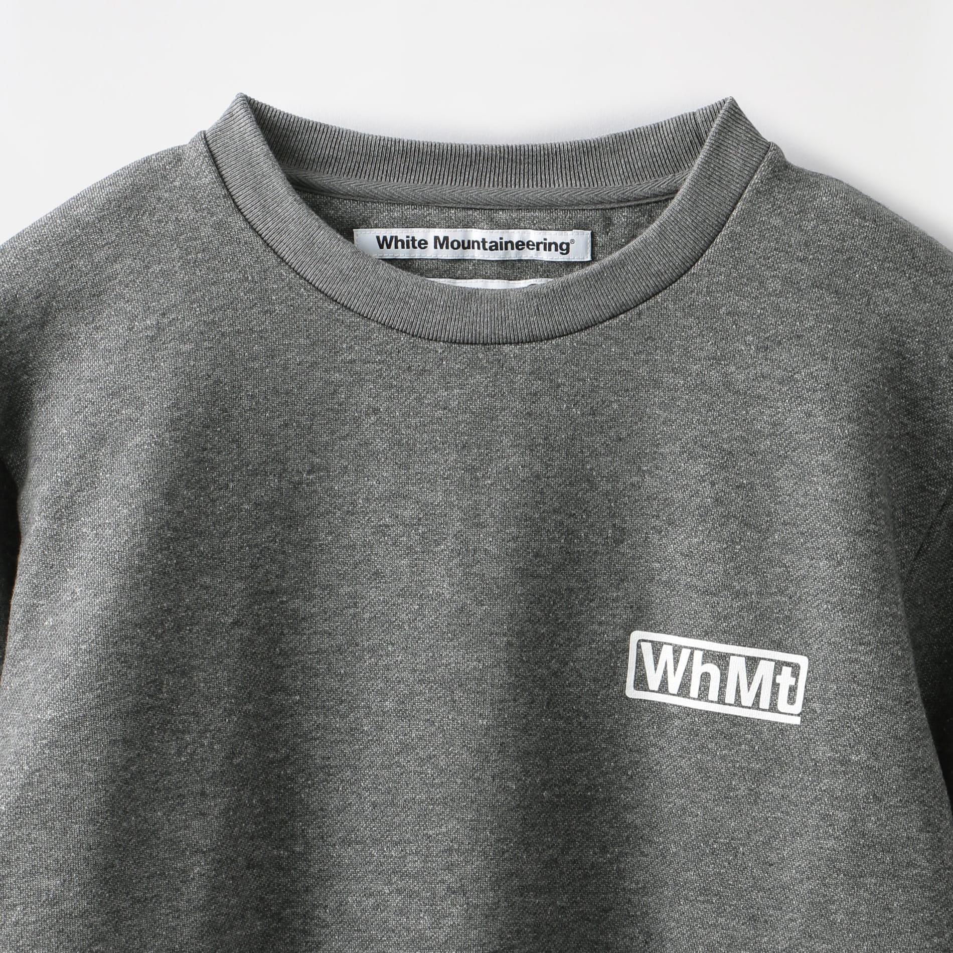 〈タイムセール〉【White Mountaineering】ロゴプリント スエットシャツ WM1973509