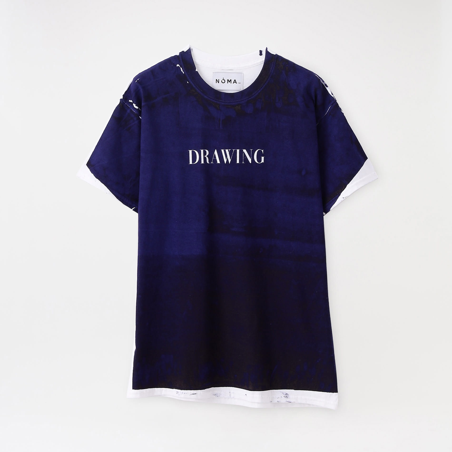 【NOMA t.d.】MEN Tシャツ Drawing Tee TS 01