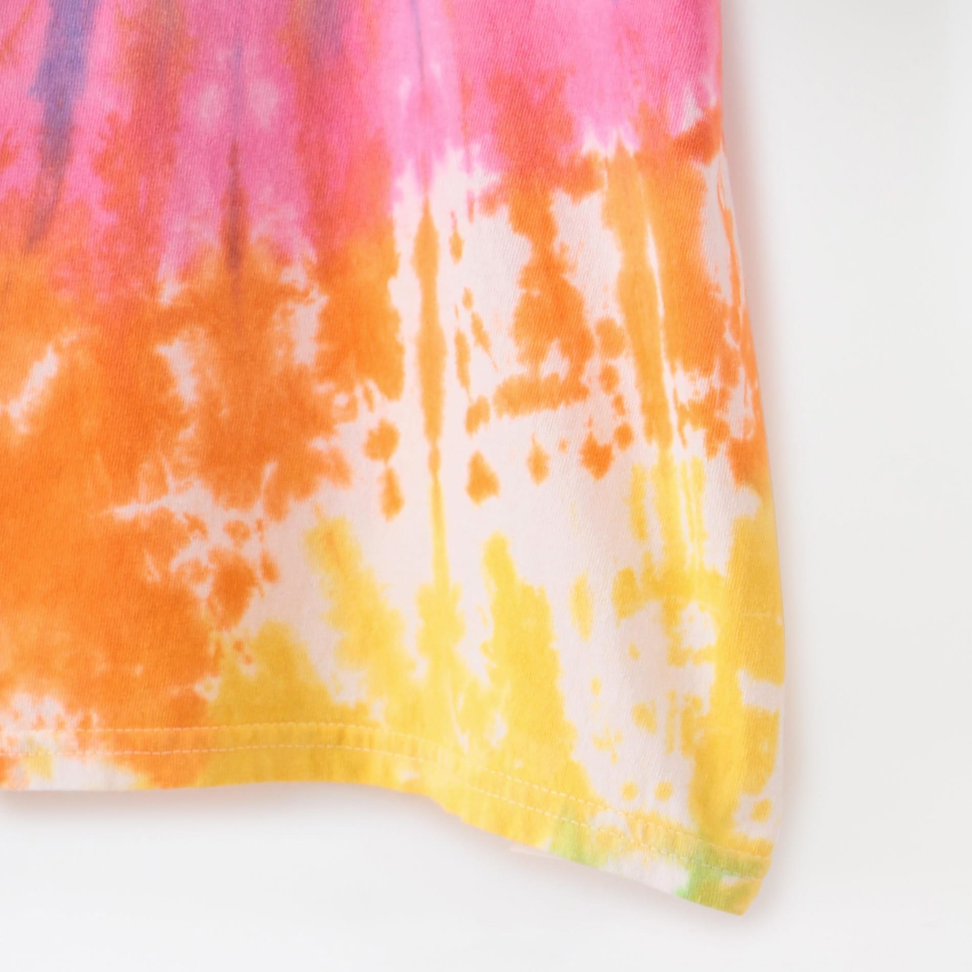 【FACTOTUM】MEN Tie dye S/S T-shirts TRIANGLE 1080939