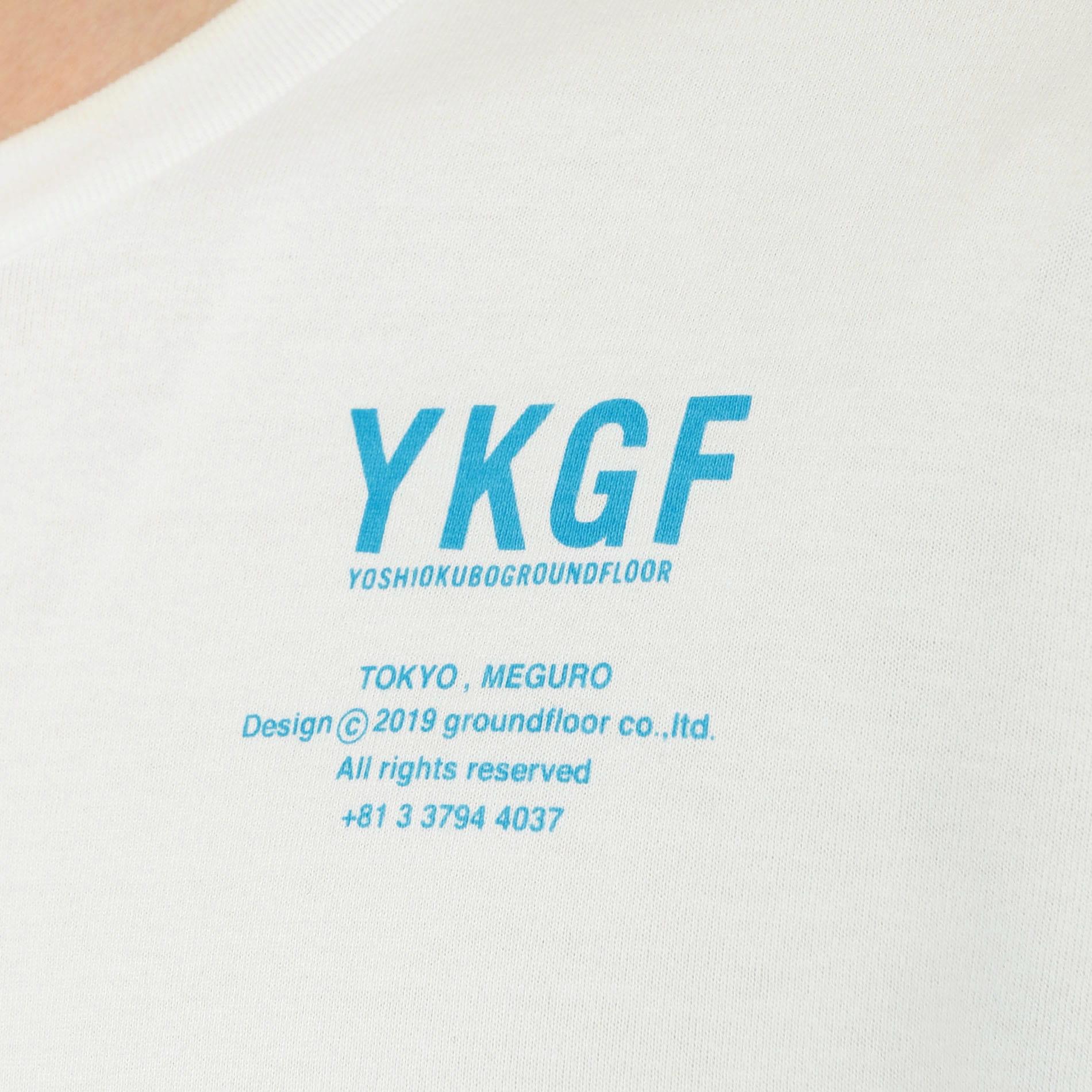 【予約販売】【yoshiokubo GROUNDFLOOR】別注 オーバーサイズ フリンジT YKF19115SP