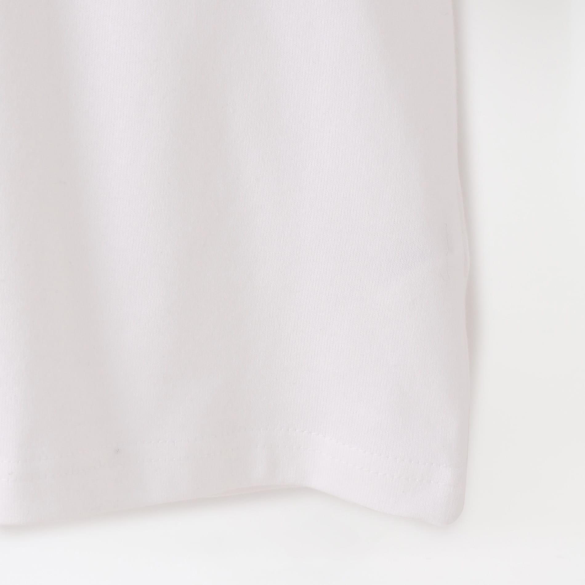 【yoshiokubo GROUNDFLOOR】MEN MESH SCARF T-SHIRTS YKS20108