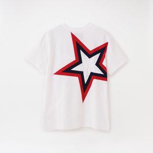【yoshiokubo GROUNDFLOOR】MEN BACK STAR T-SHIRTS YKS20109