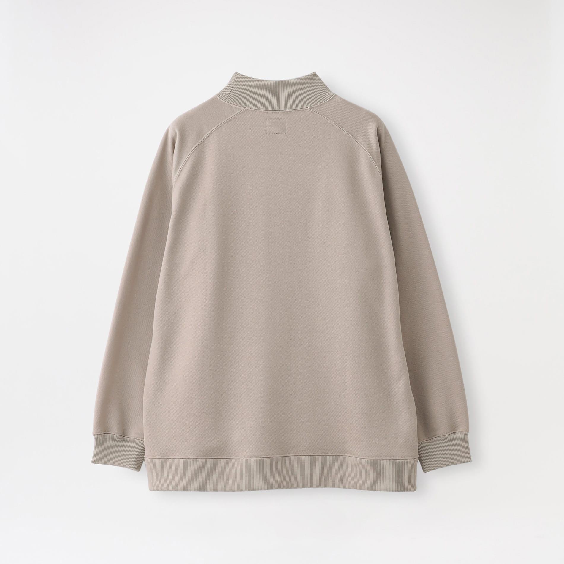 【Needles】MEN Tシャツ L/S Mock Neck Tee - C/Pe Bright Jersey JO232