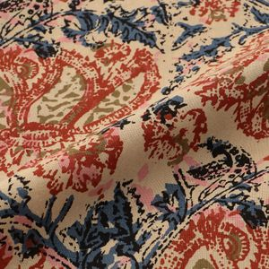 【South2 West8】MEN Mexican Parka - Printed Flannel/Paisley GL826