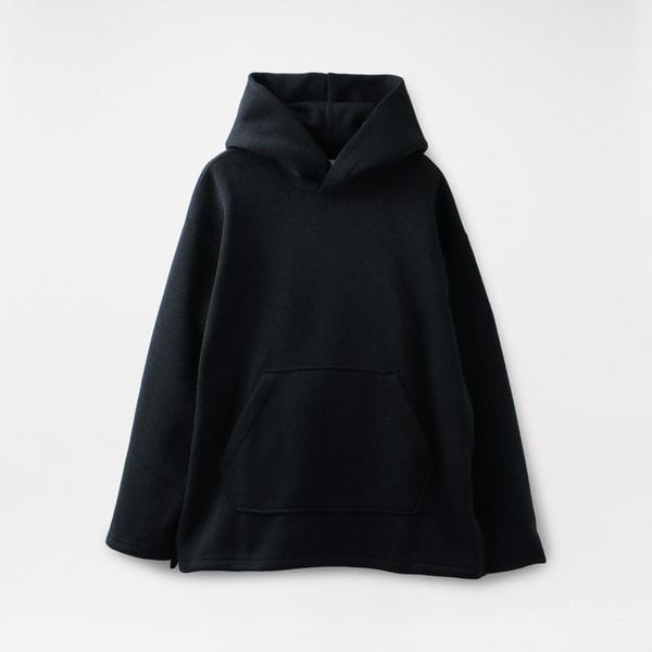 【the conspires】プルオーバー パーカー inside flannel polyester parka KS19F301