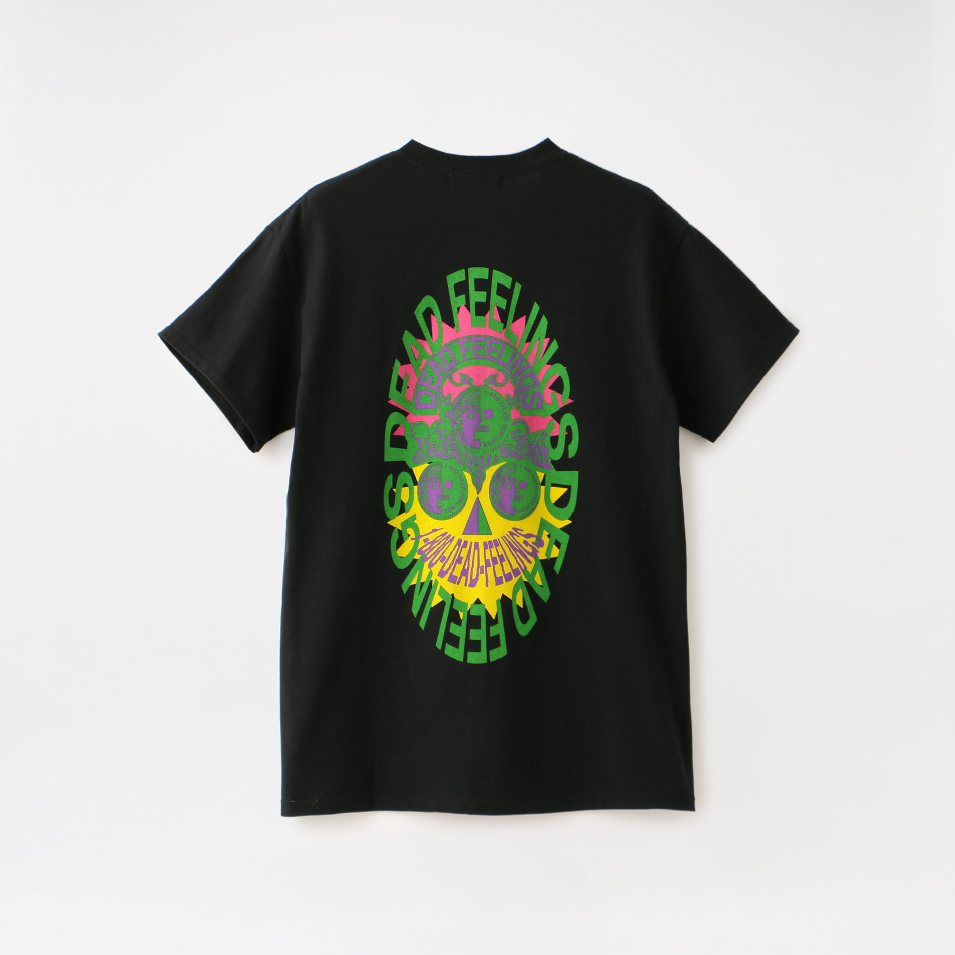 【DEAD FEELINGS】MEN S/S Pocket Tee - Mask GL631