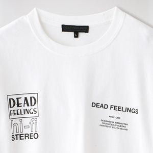 【DEAD FEELINGS】MEN L/S Tee - H-Fi HM637