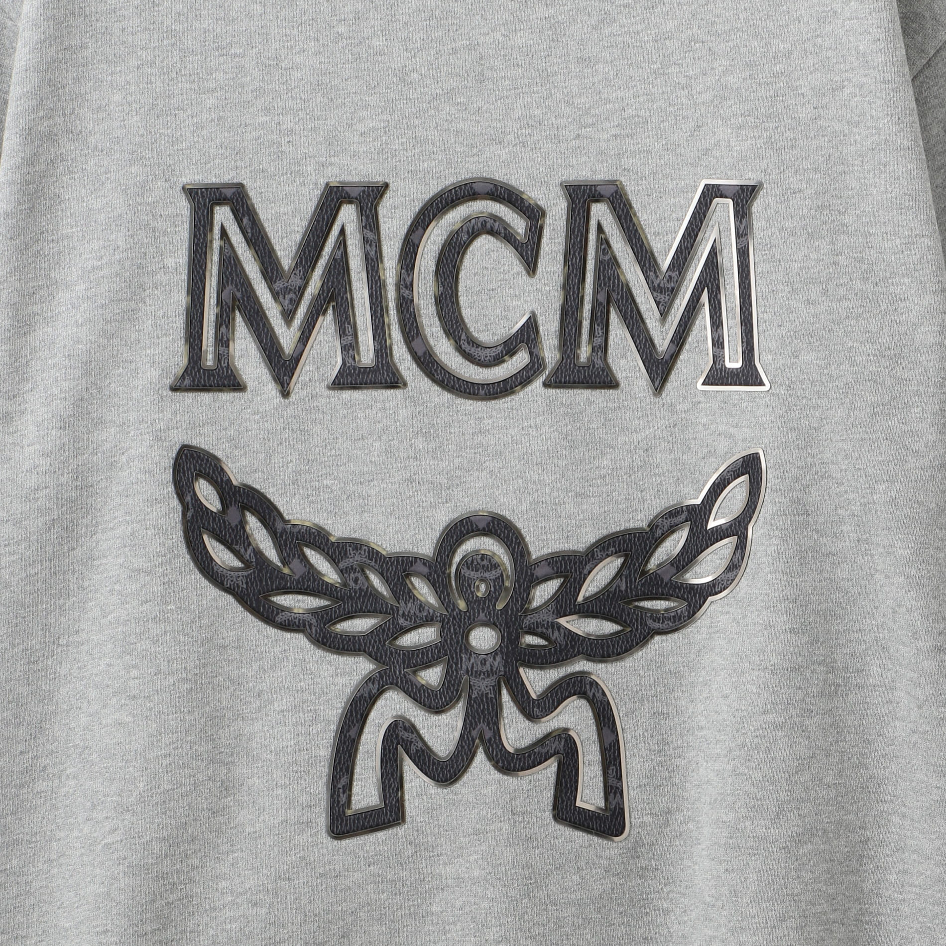【MCM】ロゴスウェット -LOGO GROUP SWEATSHIRTS- MHA9SMM12