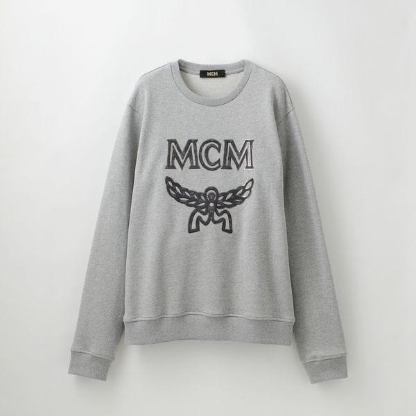 【MCM】ロゴスウェット -LOGO GROUP SWEATSHIRTS- MHA9SMM12