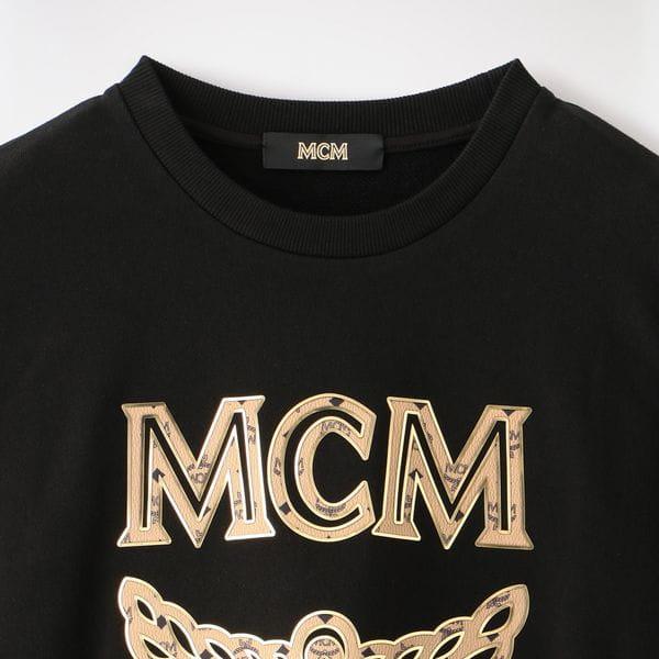 【MCM】MEN ロゴスウェット LOGO GROUP SWEATSHIRTS MHA8SMM12