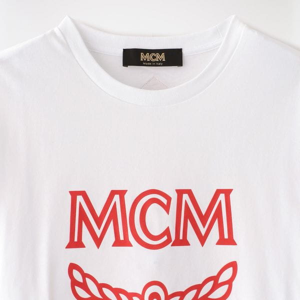 【MCM】MEN LOGO GROUP SHORT SLEEVES TEE MHTASMM04