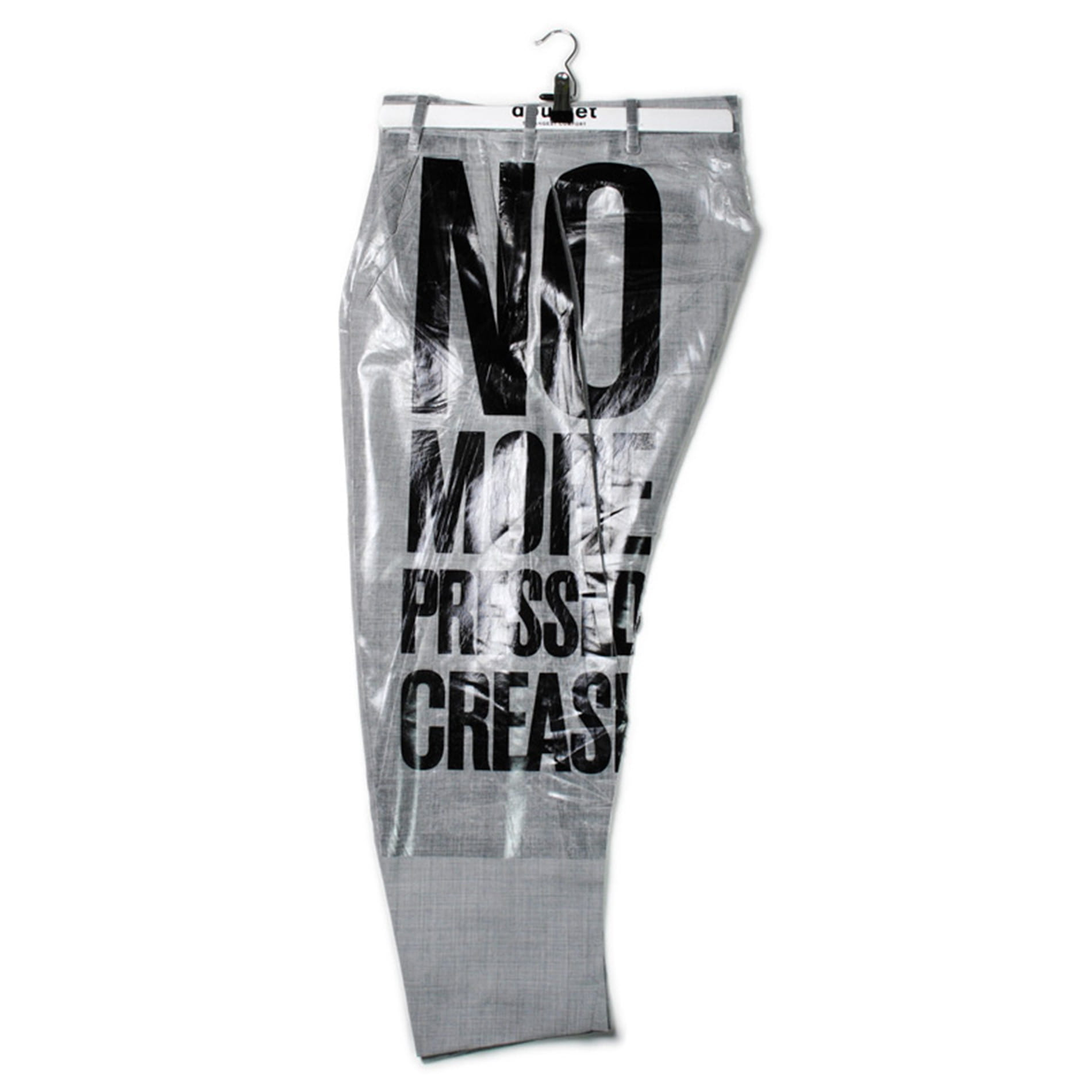 【doublet】MEN 2D PACKAGED 3D CUTTING TROUSERS SAYS SLOGAN