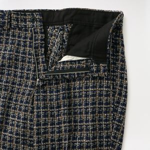 【Needles】MEN Basic Trouser - Fancy Tweed HM098