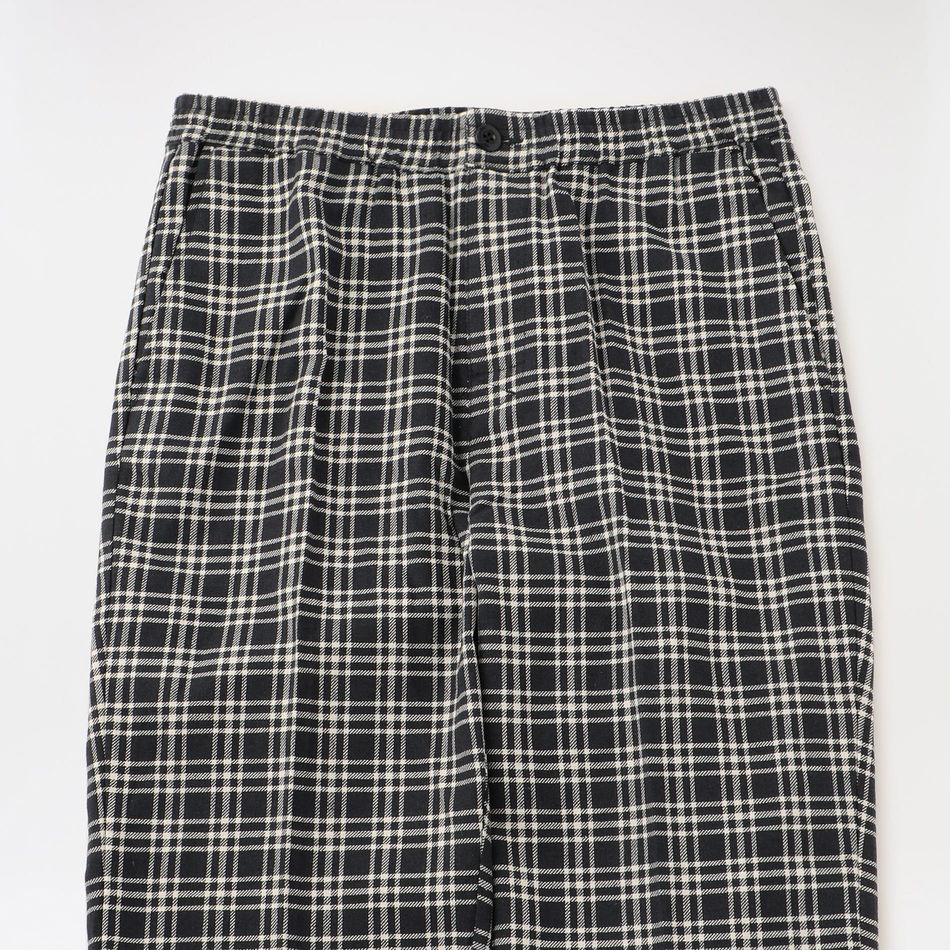 【Stussy】MEN Plaid Linen Bryan Pant 116438