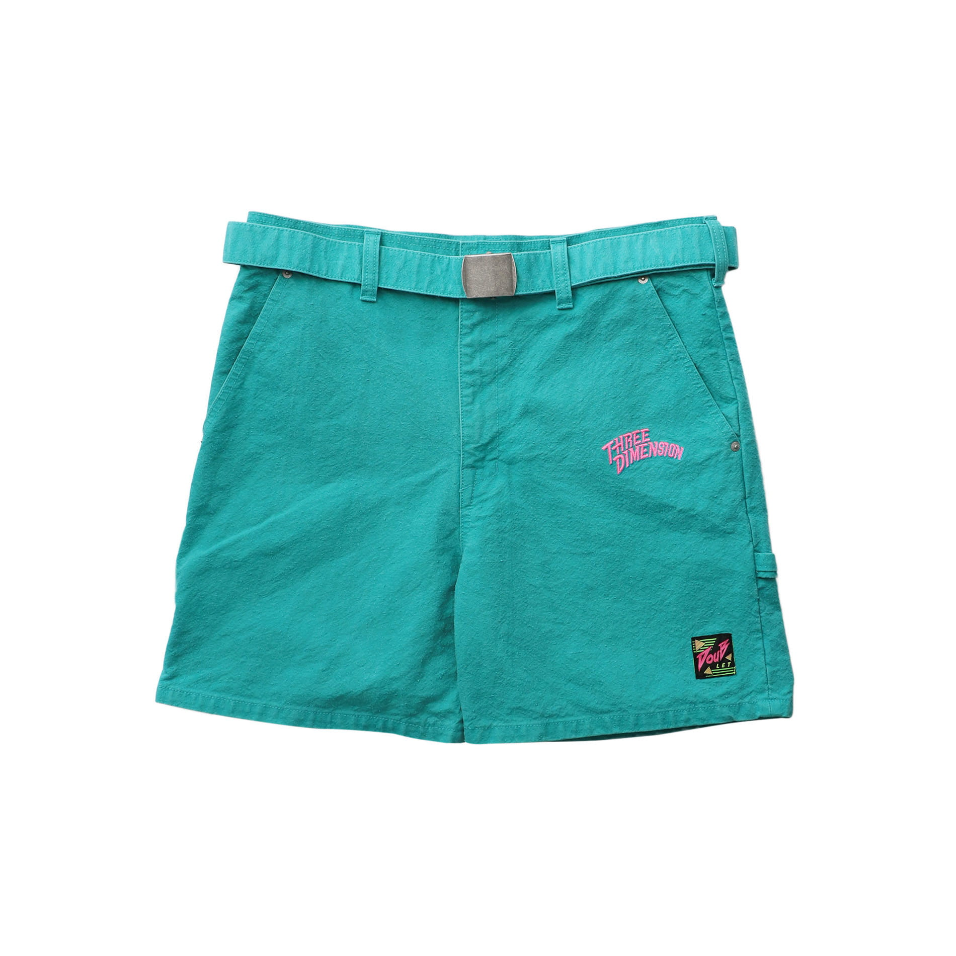 【doublet】MEN SILK DUCK SHORT PANTS