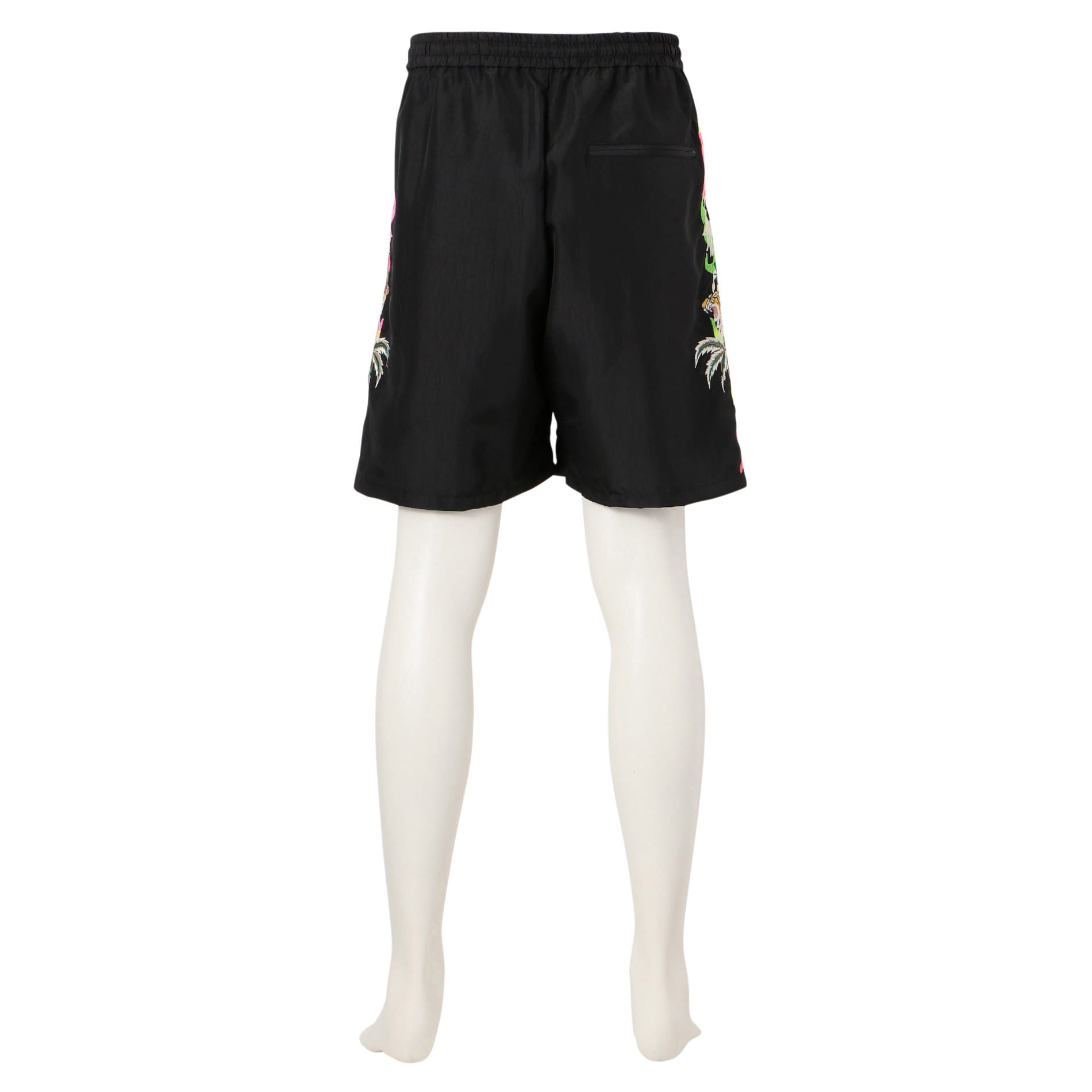 【doublet】MEN 別注 CHAOS EMBROIDERY CHAMRAY SHORT PANTS