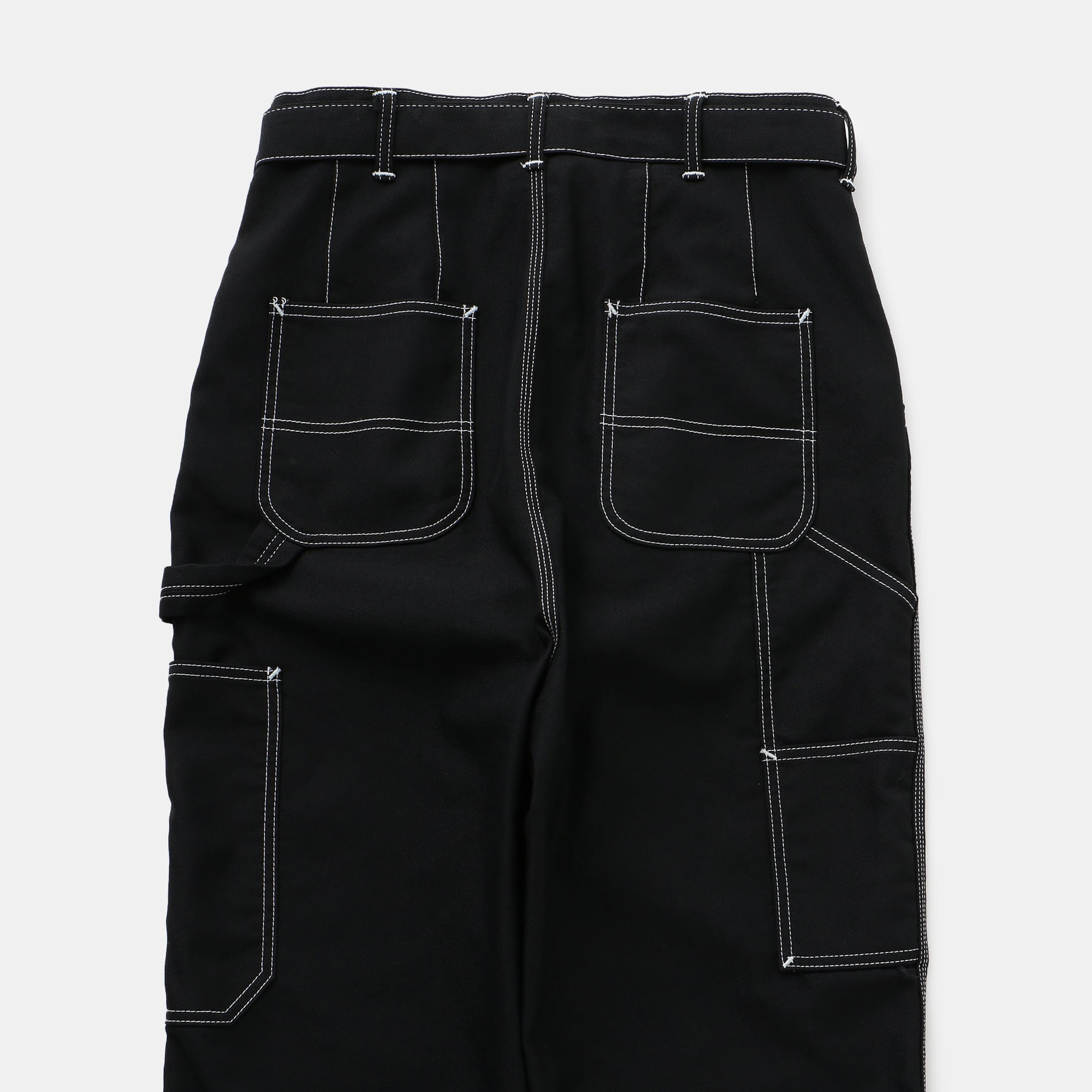【doublet】MEN HEAVY TWILL HIGHWAIST WIDE TAPERED TROUSERS 20SS08PT118