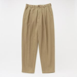 【doublet】MEN SILK CHINO WIDE TAPERED TROUSERS 21SS10PT145