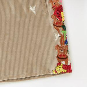 【doublet】MEN CHAOS EMBROIDERY COMFY SHORT PANTS 21SS24PT151