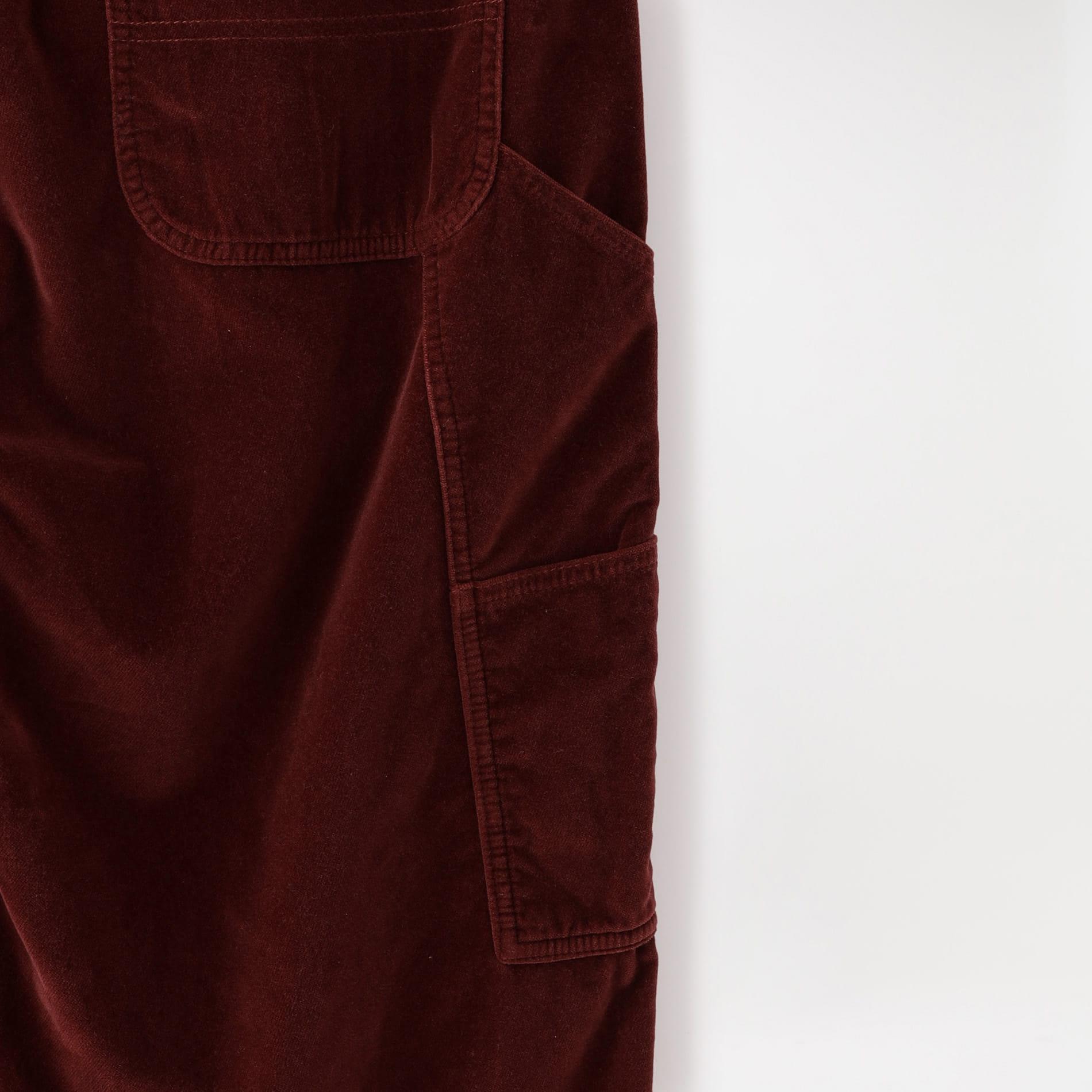 【doublet】MEN パンツ CUT OFF VELVET PANTS 21AW09PT156