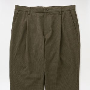 【FACTOTUM】MEN Microcheck British Army 1tack Trouser 1050740