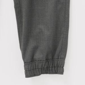 【yoshiokubo GROUNDFLOOR】MEN トラックパンツ SILK WOOL TRACK PANTS YKF19406