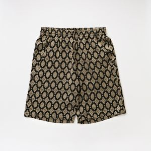 【Needles】MEN Basketballl Short - Cu/Ac Jacquard/Fine Pattern GL099