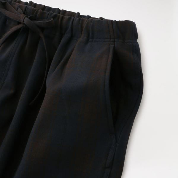 【South2 West8】MEN String Slack Pant - Blackwatch HM842