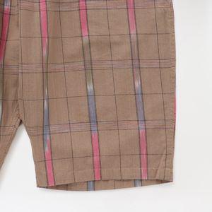 【South2 West8】MEN ショートパンツ String Short - Ikat Windowpane IN857