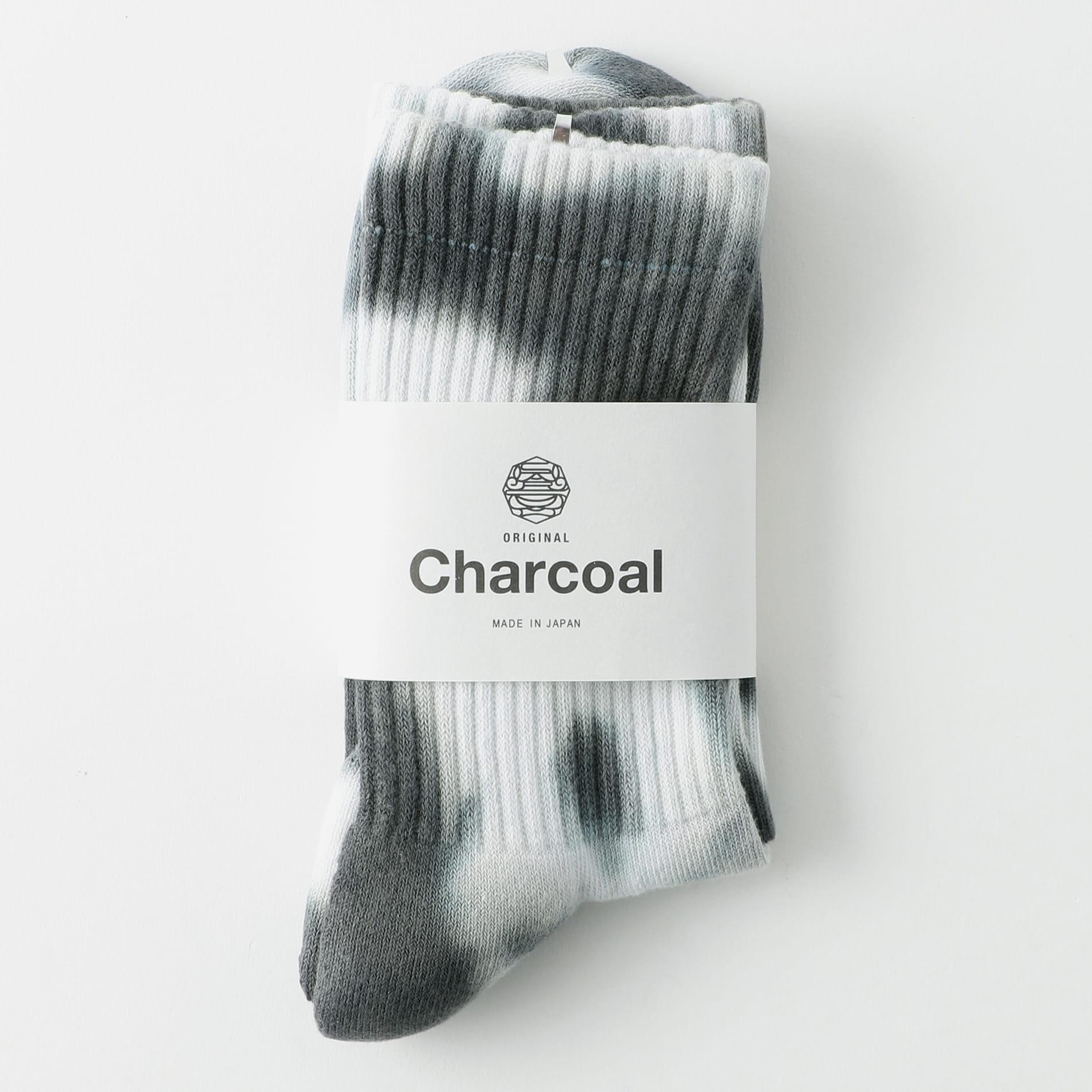【Charcoal】MEN OC Tye-Dye Reg Socks 20-22-4-002