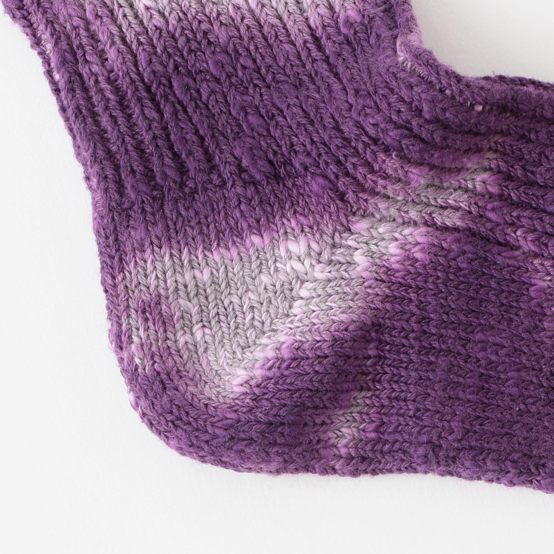 【Charcoal】MEN ソックス OC Cotton Slub Mix Socks Tye-Dye 20-22-4-052