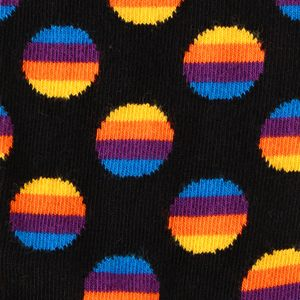 【HappySocks】MEN ソックス Sunrise Dot SDU01-9000