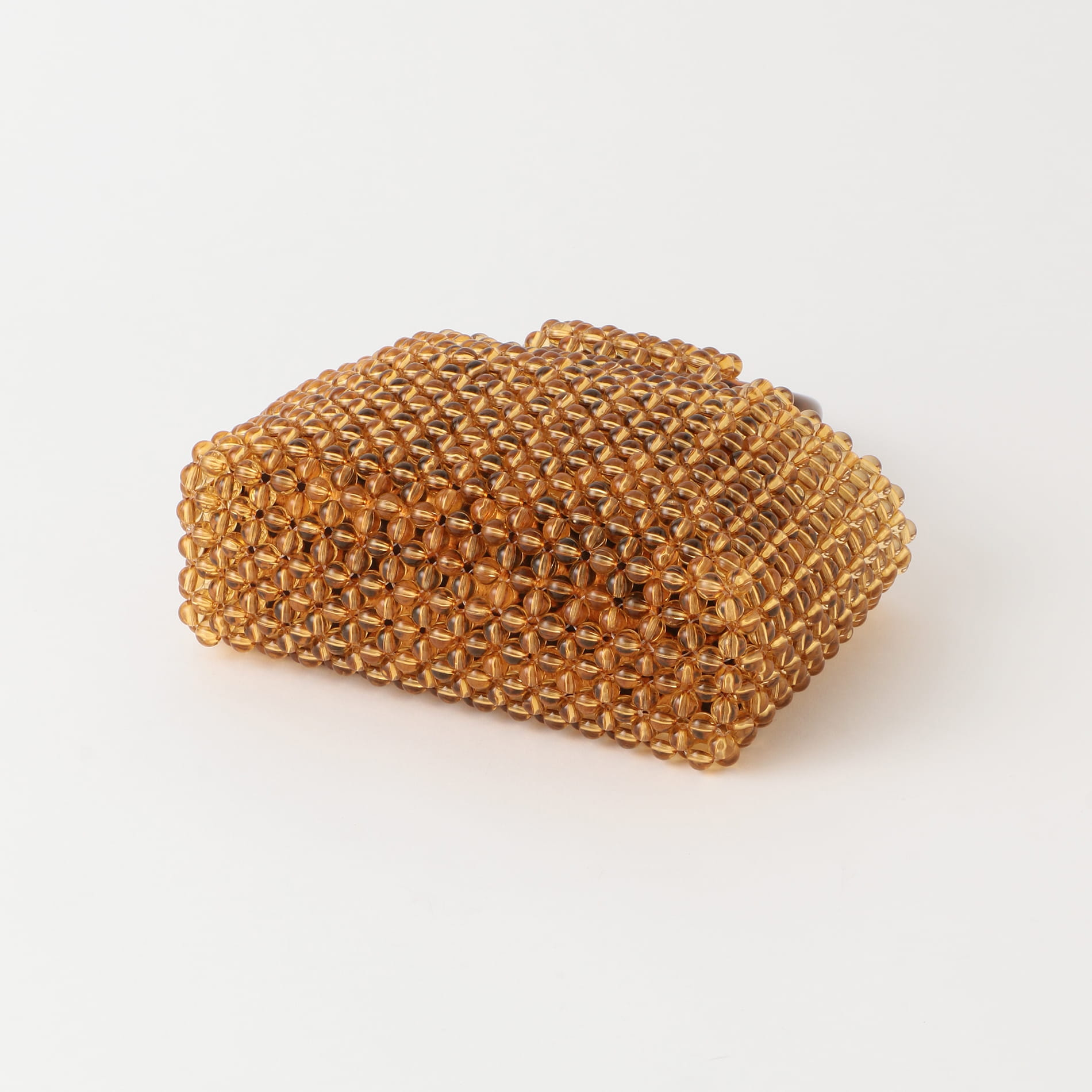 【TSURU by MARIKO OIKAWA】WOMEN ビーズバッグ Noisette acrylic resin beads WB-1206050