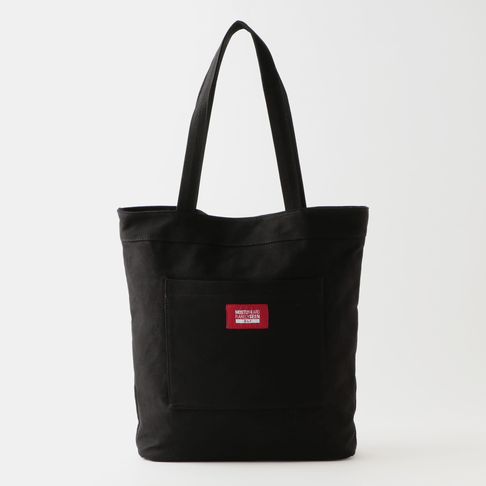 【8-BIT by MOSTLY HEARD RARELY SEEN】トートバッグ -GLOSSY TOTE-