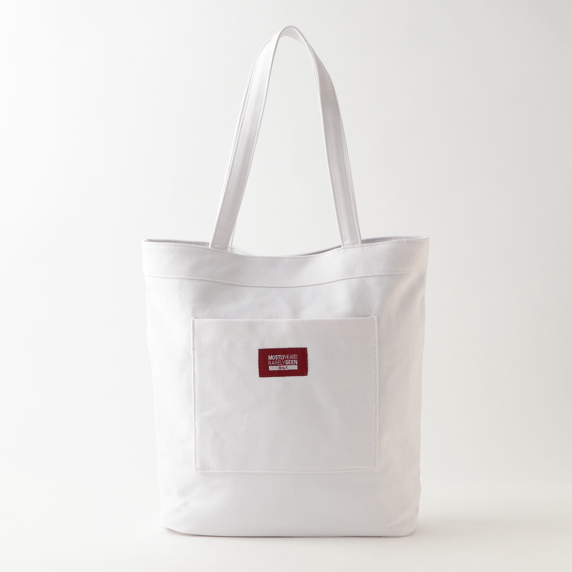 【8-BIT by MOSTLY HEARD RARELY SEEN】トートバッグ -HAUNTING YOU TOTE-