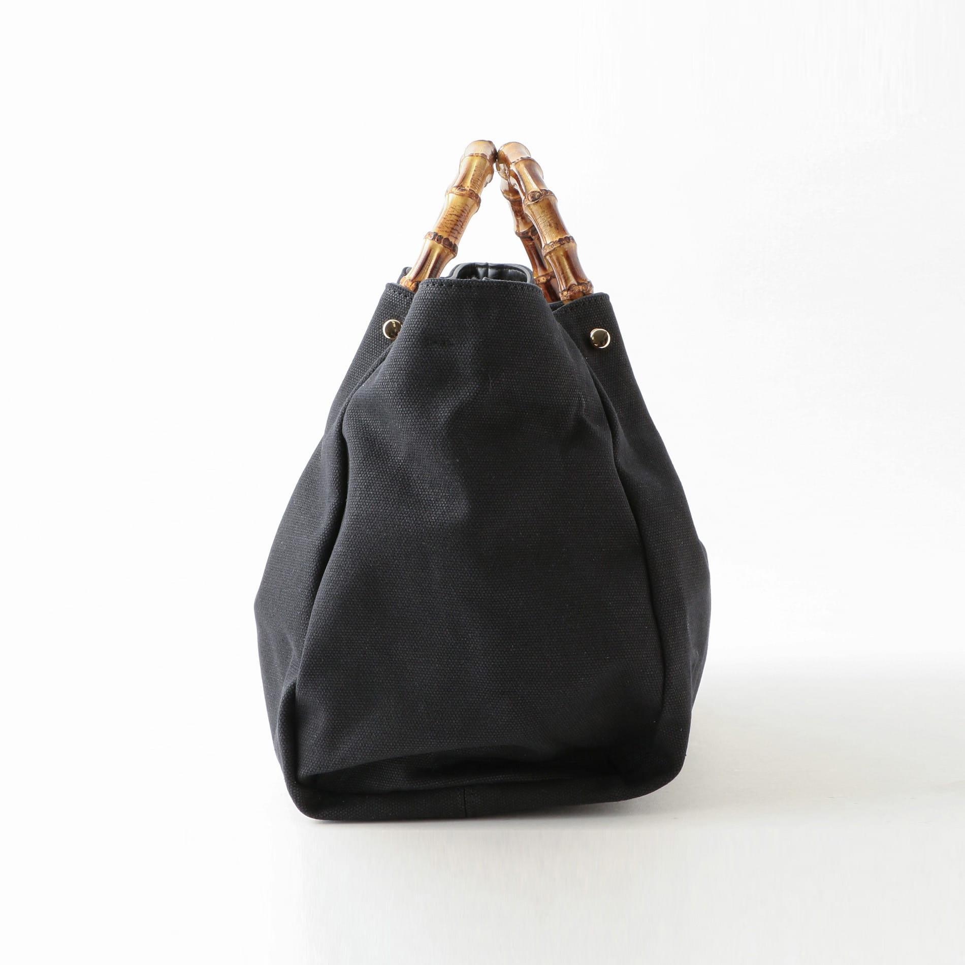 【SOLPRESA】WOMEN バンブーハンドルバッグ SP191-A3