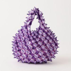 【BUNZABURO】WOMEN バッグ BAI SHIBORI PETIT BAG TIE DYE