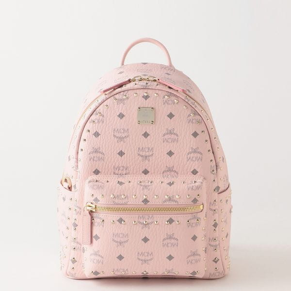 【MCM】WOMEN バックパック STARK OUTLINE STUDS BACKPACK 32 MMKAAVE01