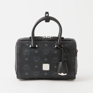 【MCM】WOMEN ボストンバッグ ESSENTIAL VISETOS  ORIGINAL BOSTON 23 MWBAASE02