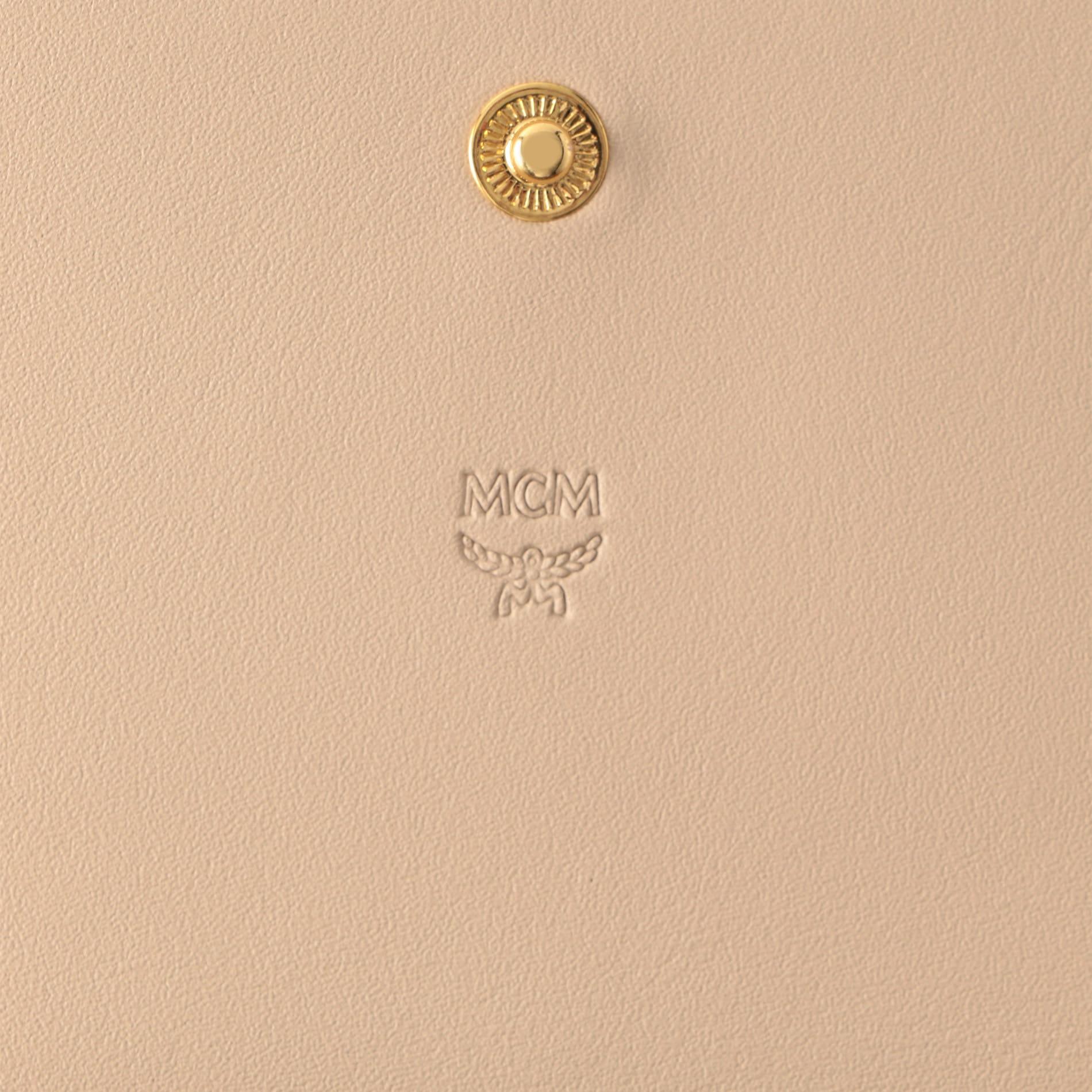 【MCM】長財布 -VISETOS ORIGINAL FLAP WALLET- MYL8SVI99