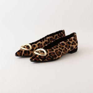 【FABIO RUSCONI】WOMEN パンプス S.ROSSI Leopard of pic