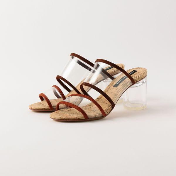 【TSURU by MARIKO OIKAWA】WOMEN サンダル Fizz heel:70mm WW-1202290