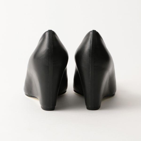 【BEAUTIFUL SHOES】WOMEN LAMB LEATHER HIGHROUND MONOCHROME BSS2012003