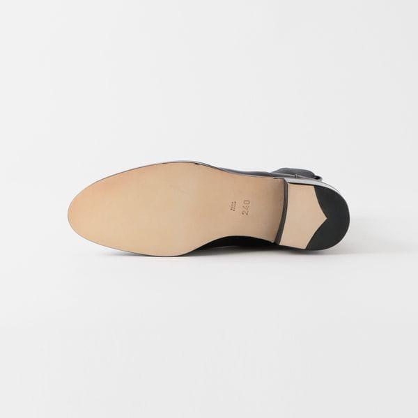 【BEAUTIFUL SHOES】WOMEN ブーツ STEER LEATER SIDEGOREBOOTS BSS1712001