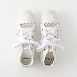 【Maison MIHARA YASUHIRO】WOMEN MYNE SELF mesh sneakers H04FW701