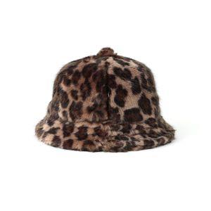 【Needles】WOMEN ハット Bermuda Hat - Faux Fur / Leopard JO035