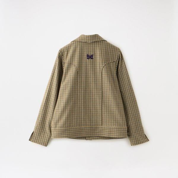 【Needles】WOMEN COWBOY LEISURE JACKET- GUNCLUB PLAID HM172
